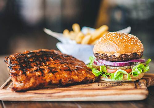 ribsandburger