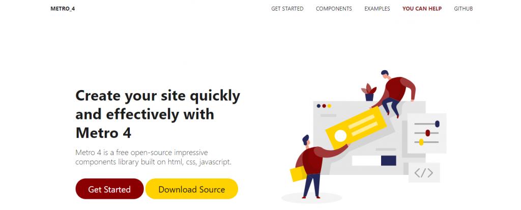 Metro UI CSS