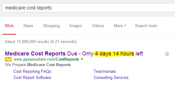 countdownsearch