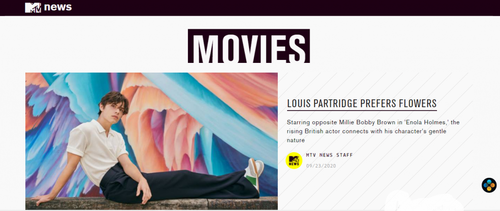 WordPress Portals - MTV Movies Blog