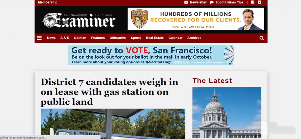 WordPress Portals - San Francisco Examiner