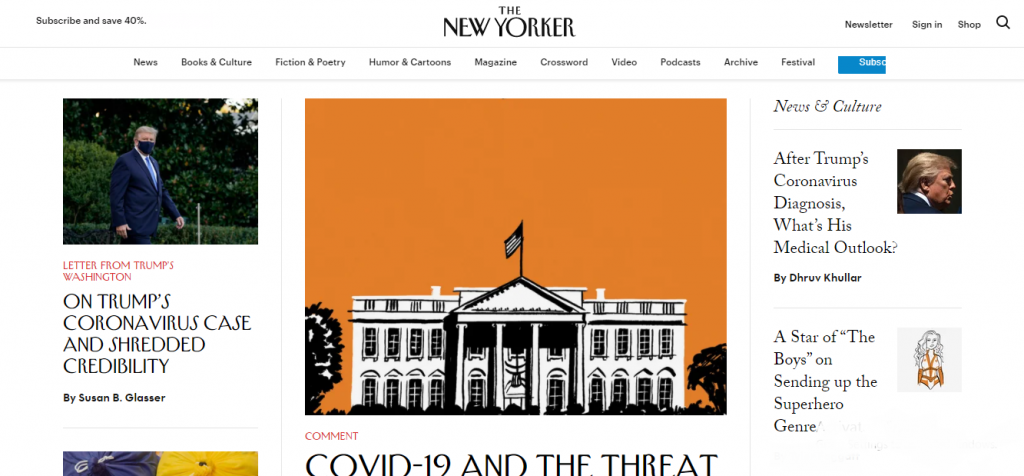 WordPress Portals - The New Yorker