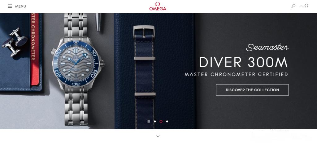Omega Inspiring Websites