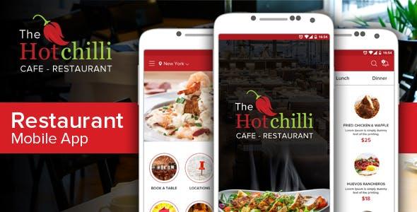 food ordering mobile app for restaurant
