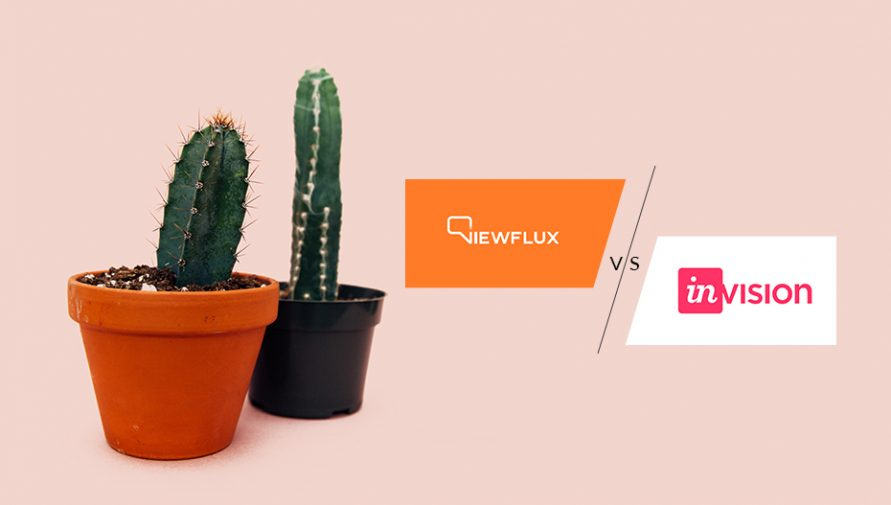 2 Prototyping Tools Compared – InVision vs. ViewFlux