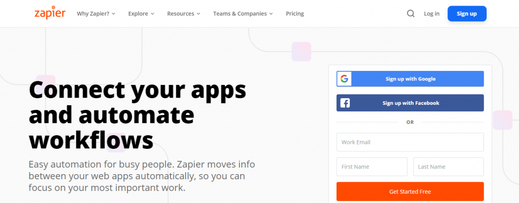 dedicated offshore team - Zapier's automation solution