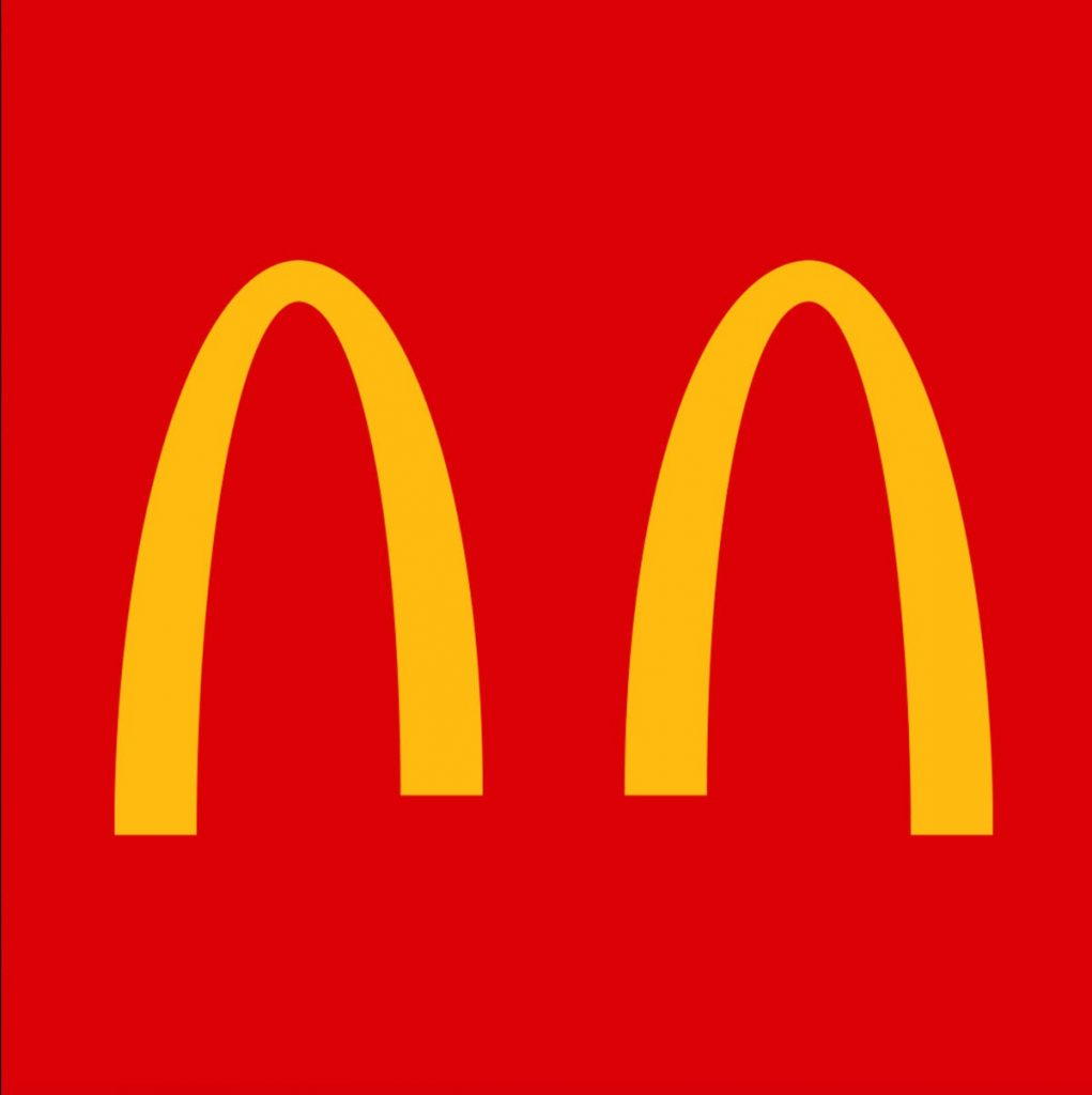 Brands like McDonald's are promoting safety regulation such as social distancing through their logos