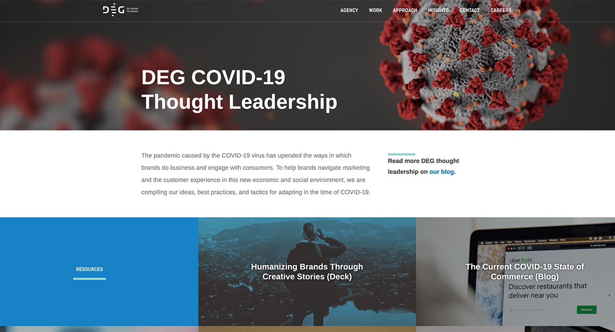 DEG Digital's response to COVID-19