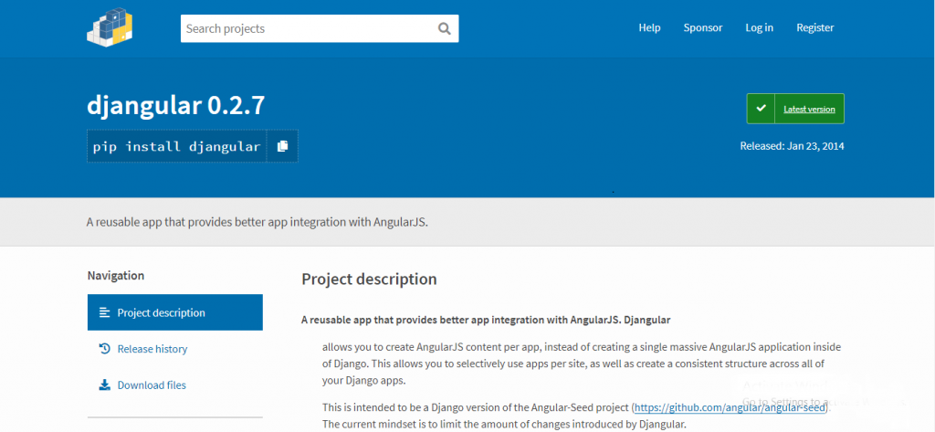 angularjs development tool - Djangular
