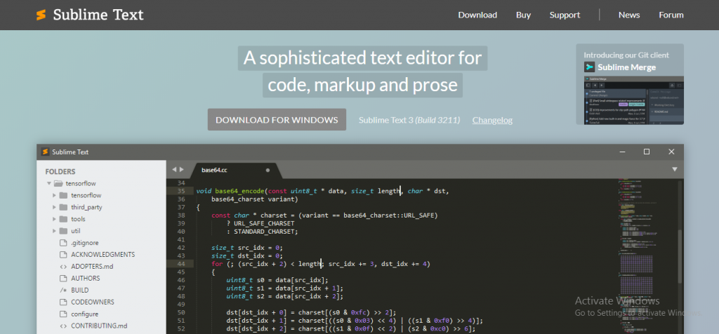 angularjs development tool - Sublime Text