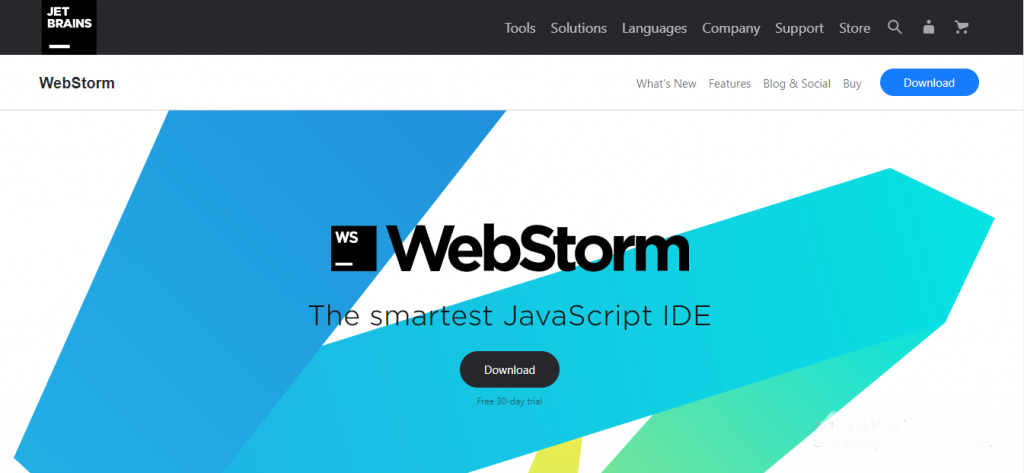 angularjs development tool - WebStorm