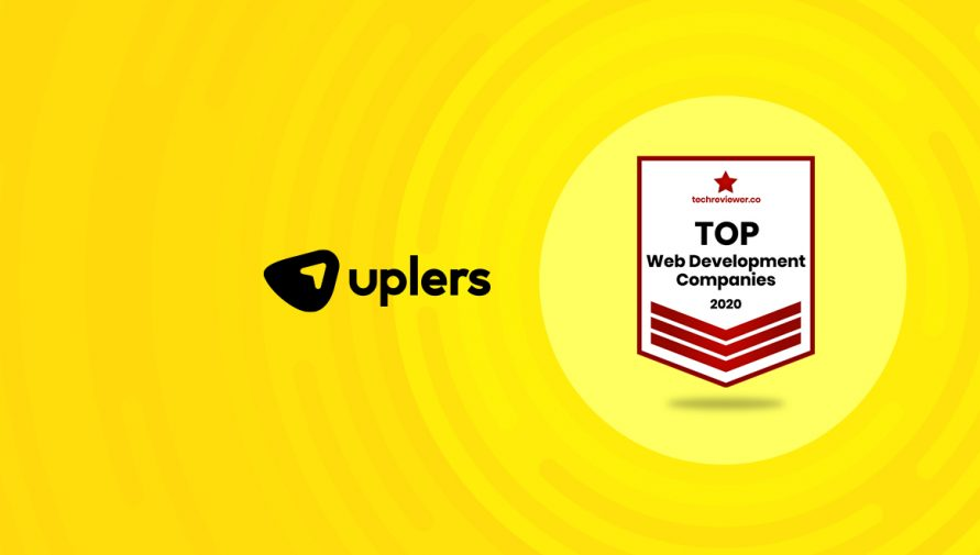 Uplers Named among the Top web development companies in 2020