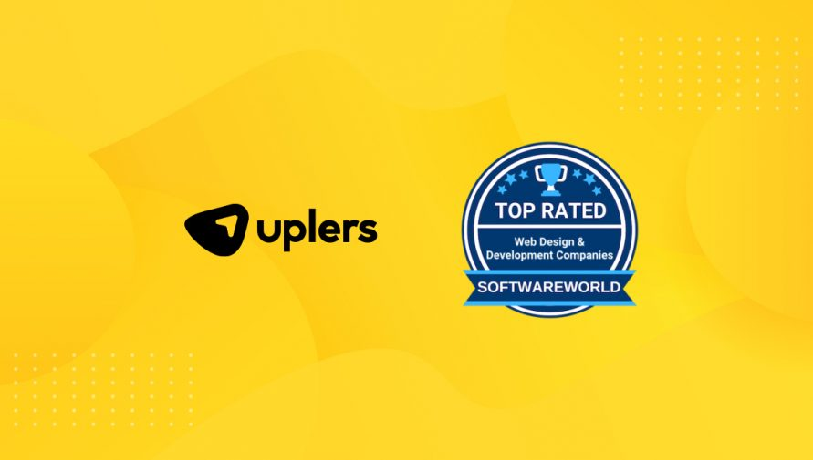 Uplers made it to the Top 20 Web Design and Development Companies by Software World