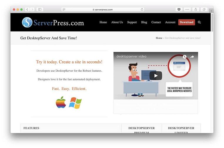 About DesktopServer