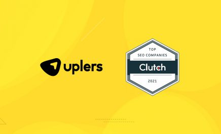 Uplers got featured as one of the best SEO providers of 2021 by Clutch